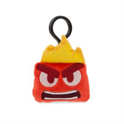 Llavero con peluche Ira, colección Disney Emoji, Del revés