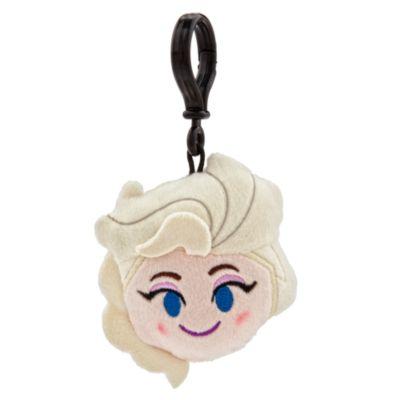 Elsa Emoji Plush Backpack Clip, Frozen