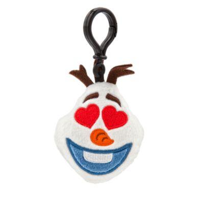 Colgante tipo peluche para mochila de Olaf en versión emoji