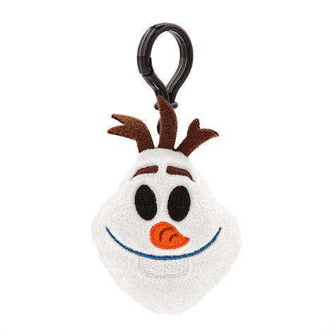 Die Eiskönigin - völlig unverfroren - Olaf Emoji Plüsch-Rucksackclip