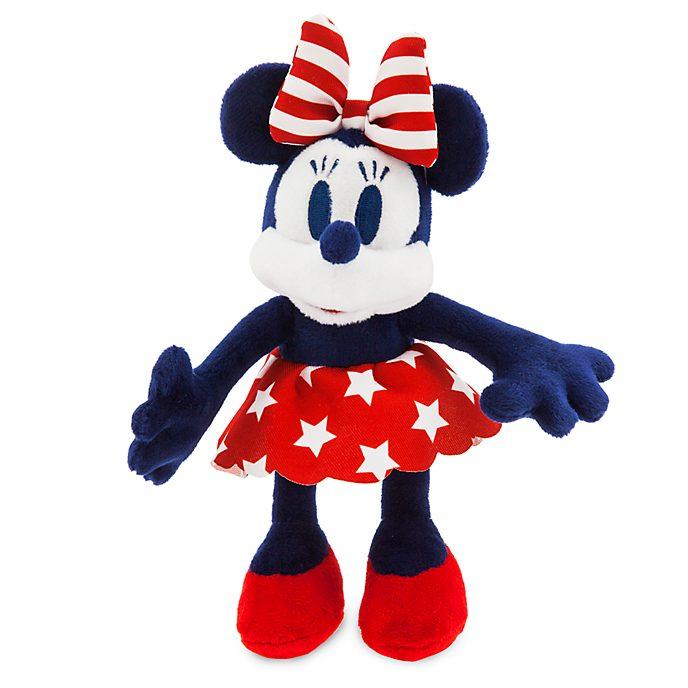 Mini peluche imbottito bandiera americana Minni