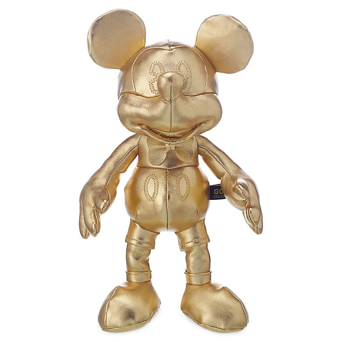 Disney Store Peluche miniature Mickey Mouse, collection Gold