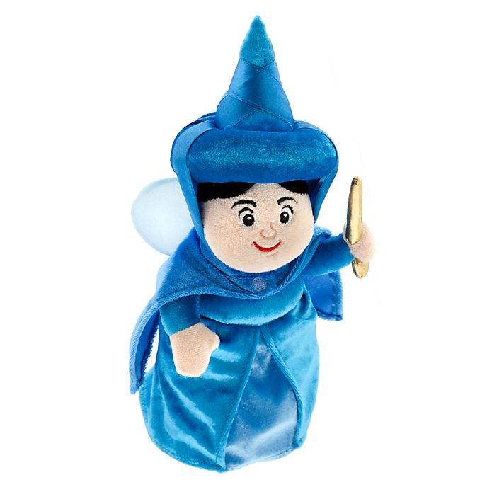 Disney Store Merryweather 60th Anniversary Soft Toy Doll, Sleeping Beauty