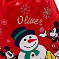Disney Store Hotte de Noël Mickey et Minnie, collection Holiday Cheer