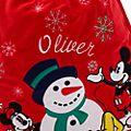 Disney Store - Holiday Cheer - Micky und Minnie - Weihnachtssack