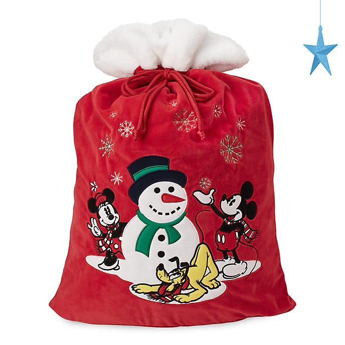 Disney Store Hotte de Noël Mickey et Minnie, collection Holiday Cheer