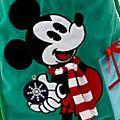 Saco Navidad Mickey Mouse, Holiday Cheer, Disney Store