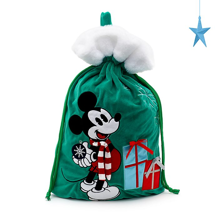 Disney Store Hotte de Noël Mickey, collection Holiday Cheer