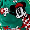 Disney Store - Holiday Cheer - Minnie Maus - Weihnachtssack