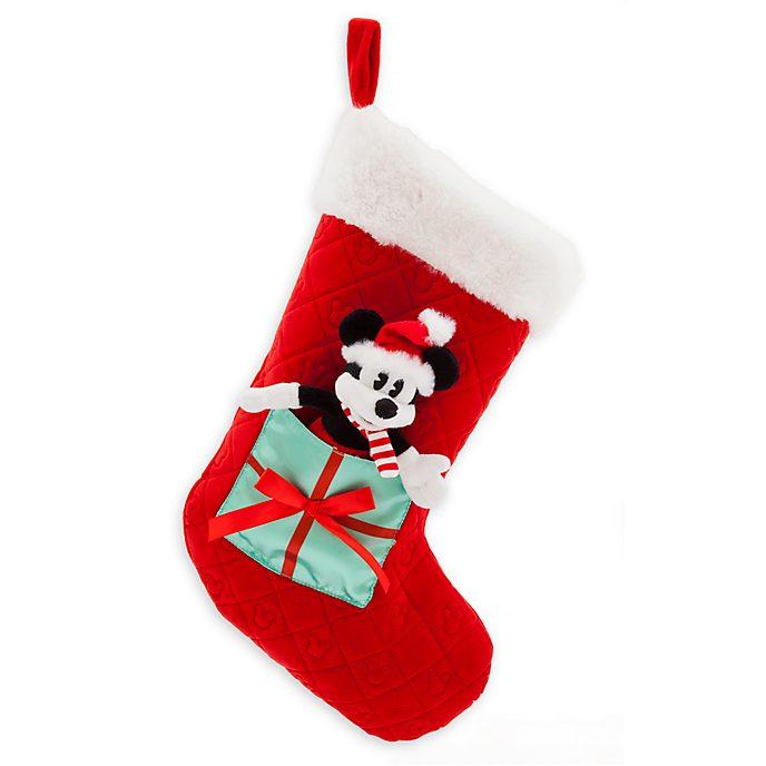 Calcetín Navidad Mickey Mouse, Holiday Cheer, Disney Store