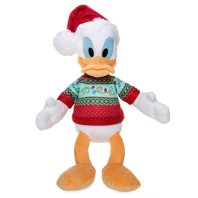 Disney Store Donald Duck Holiday Cheer Medium Soft Toy
