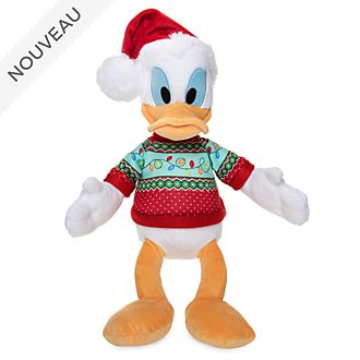Disney Store Peluche moyenne Donald Duck, Holiday Cheer