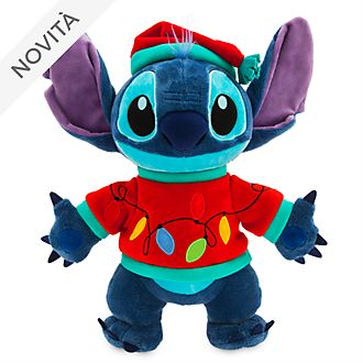 Peluche medio luminoso Stitch Holiday Cheer Disney Store