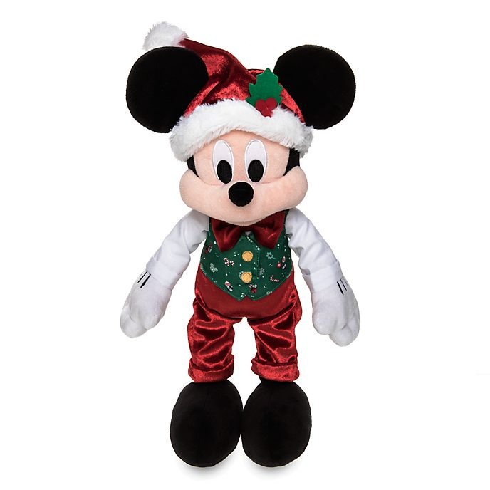 Peluche medio Holiday Cheer Topolino Disney Store