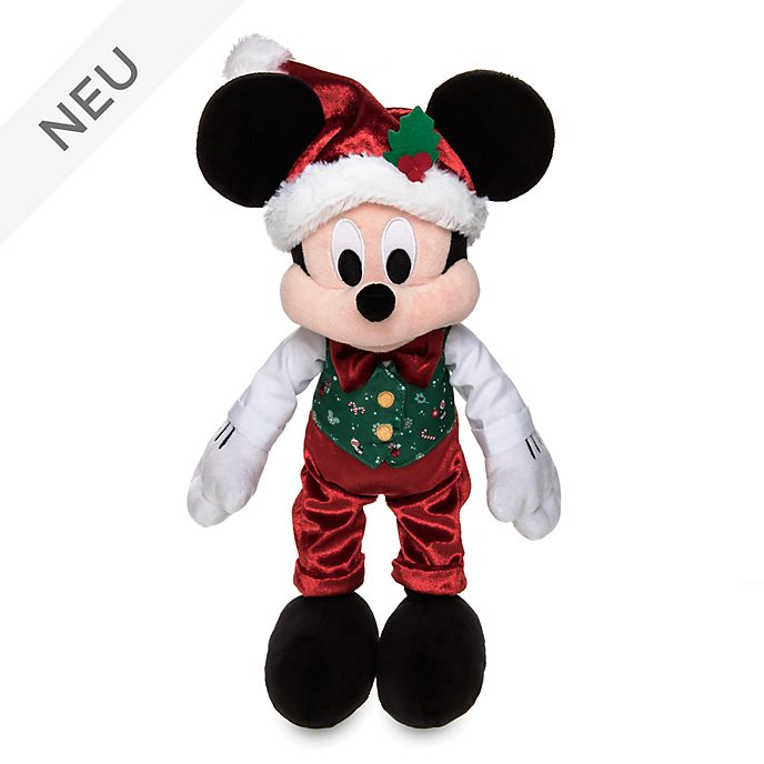Disney Store - Holiday Cheer - Micky Maus - Kuscheltier