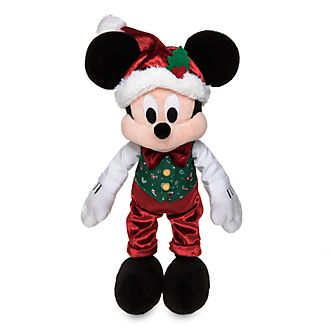 Peluche medio Holiday Cheer Topolino Disney Store
