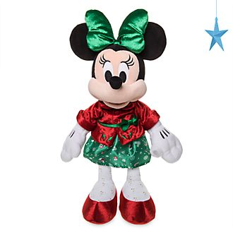 Peluche medio Holiday Cheer Minni Disney Store