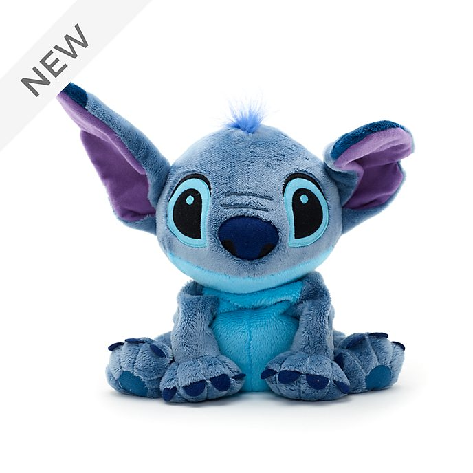 Disney Store Stitch Microwavable Small Soft Toy