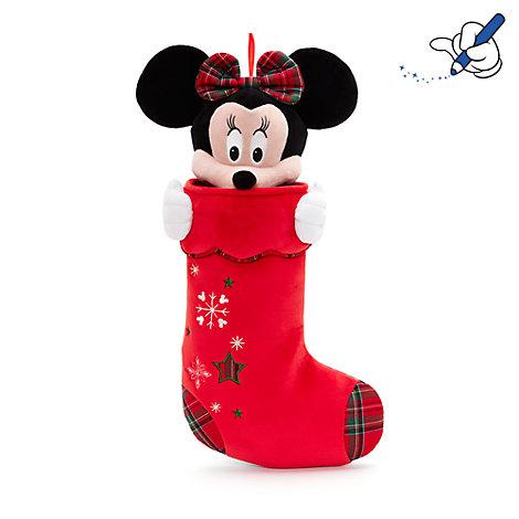 chaussette de nol minnie mouse - Chaussette De Noel Disney