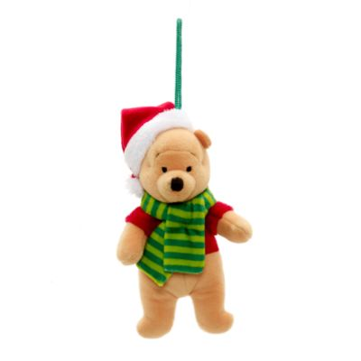 Decoraciones peluche Winnie the Pooh y amigos, juego de 4