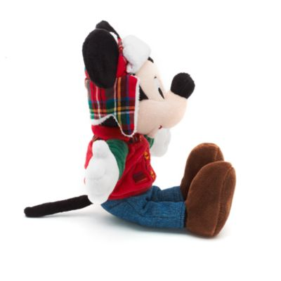 Peluche navideño Mickey Mouse