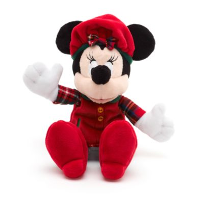 Minnie Mouse Christmas Soft Toy