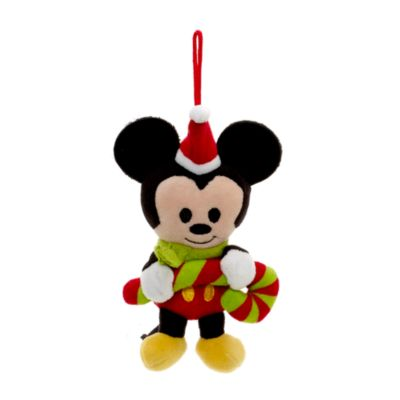 Decoraciones peluche Mickey Mouse y amigos, juego de 4
