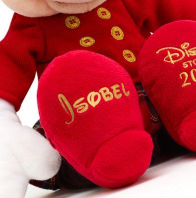 Minnie Maus - Kuscheltier in weihnachtlichem Outfit (40 cm)