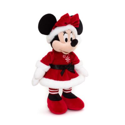 Minnie Mouse Medium Christmas Soft Toy