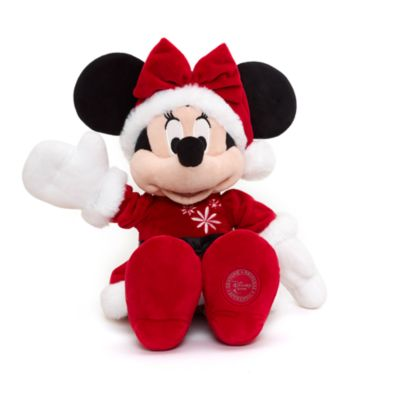 Minnie Mouse Medium Christmas Soft Toy