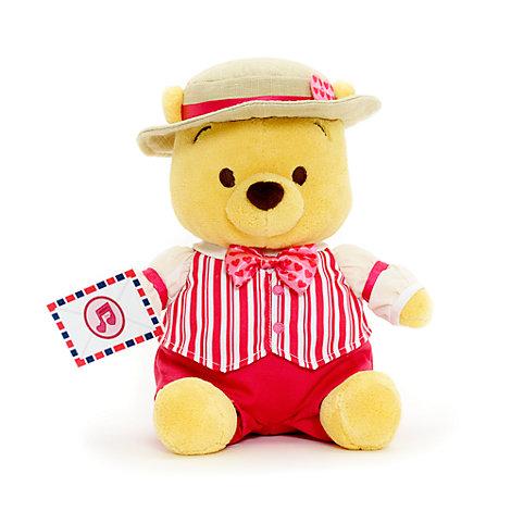 Spring Winnie the Pooh Medium Soft Toy