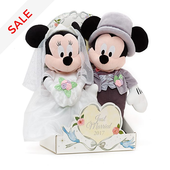 Mickey And Minnie Wedding.Mickey And Minnie Mouse 2017 Wedding Soft Toys