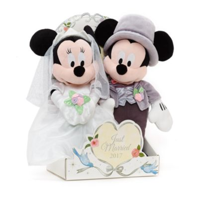 Mickey and Minnie Mouse 2017 Wedding Soft Toys