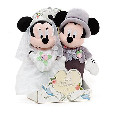 Peluches de boda Minnie y Mickey Mouse 2017