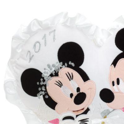 Musse och Mimmi Pigg hjärtformad bröllopskudde
