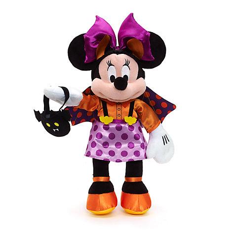 Lille Minnie Mouse plysdyr, halloween