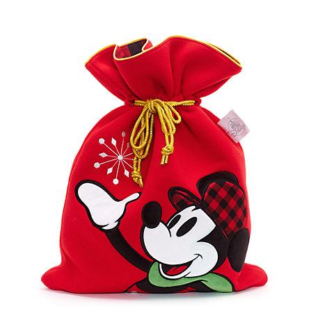 Mellemstor Mickey Mouse julesæk