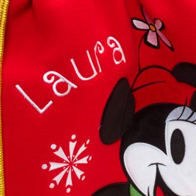 Hotte de Noël Minnie Mouse, taille moyenne