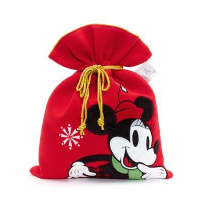 Mellemstor Minnie Mouse julesæk