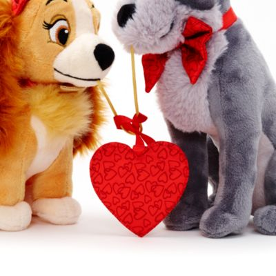 Lady and the Tramp Valentine's Day Small Soft Toy Set