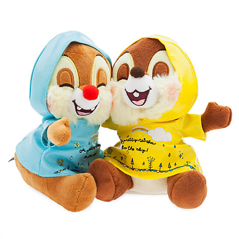 Chip 'n' Dale Raincoat Small Soft Toy