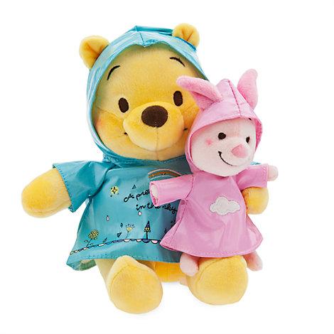 Peluche pequeño Winnie the Pooh y Piglet