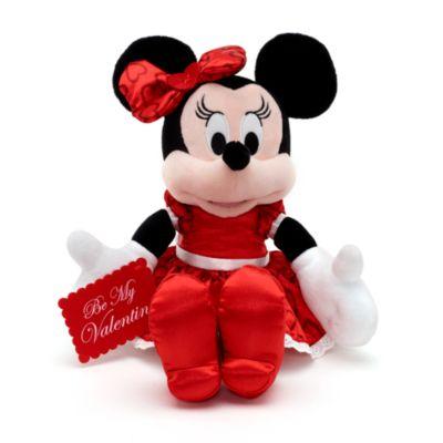 Peluche pequeño Minnie San Valentín