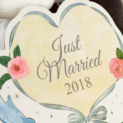 Set de peluches de boda Minnie y Mickey Mouse, 2018