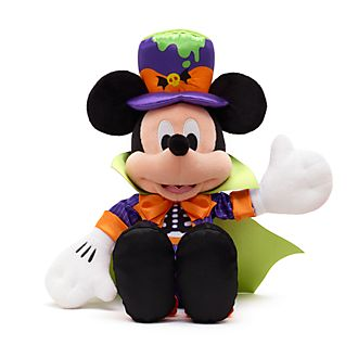 Disney Store Mickey Mouse Halloween Small Soft Toy