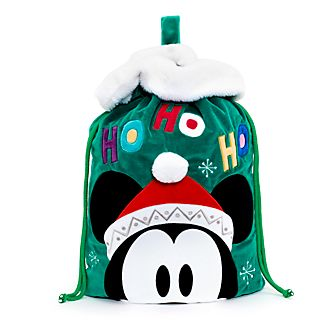 Disney Store Mickey Mouse Christmas Sack