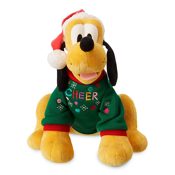 Disney Store Pluto Share the Magic Medium Soft Toy