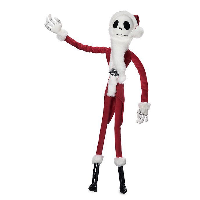 Bambola di peluche piccola Jack Skeletron Sandy Claws Disney Store