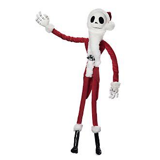 Muñeco peluche pequeño Santa Clavos, Jack Skelleton, Disney Store