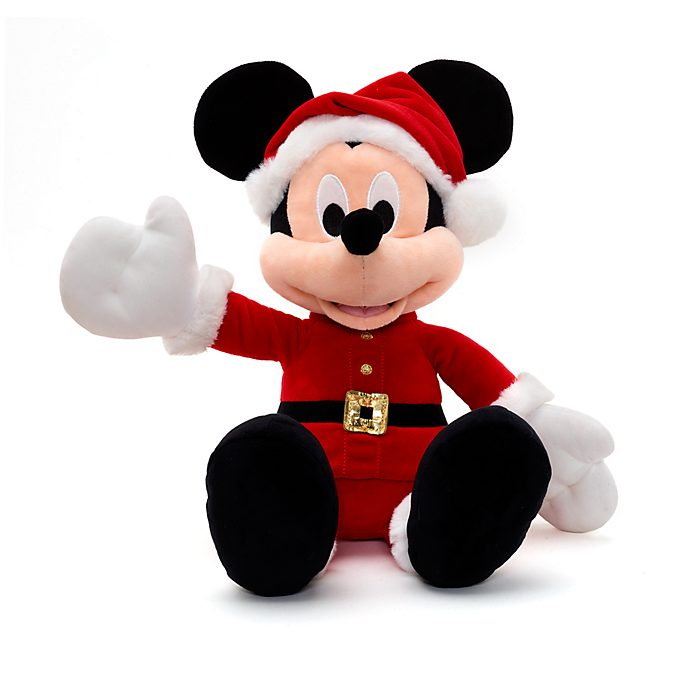 Disney Store Mickey Mouse Share the Magic Festive Small Soft Toy